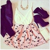 I found outfits pink and black on Wish, check it out! (: perfect fir summer ❤️