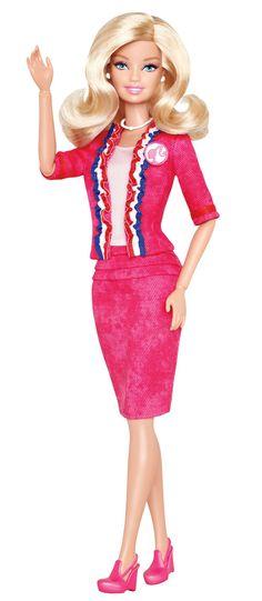 President Barbie gets my vote