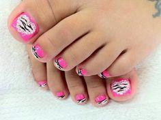 Foot nail art