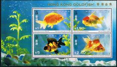 Hong Kong 1993 Year of the Fish Miniature Sheet Fine Mint                    SG MS756 Scott 687a    Other Asian and British Commonwealth Stamps HERE!