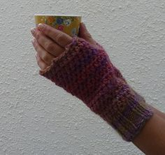 FINGERLESS MITTS / texting mitts. ' Sunset'  a super by alidufty