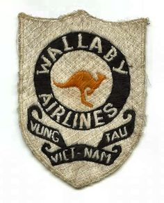 "RAAF Caribou ""Wallaby Airlines"" patch Vietnam"