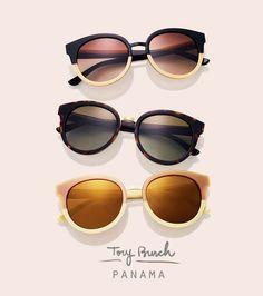 óculos de sol, coleção toru burch