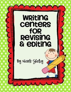 Revising and editing writing is difficult for elementary age students.  I have found that focusing on one aspect of the writing at a time is much e...