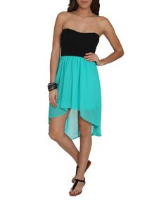 Sweetheart 2Fer High-Low Dress - Dresses