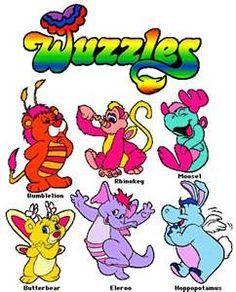 Wuzzles...Loved them...I had Eleroo!!!