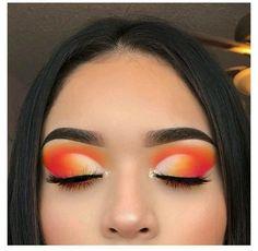 Cute Makeup Looks, Makeup Eye Looks, Eye Makeup Art, Glam Makeup, Skin Makeup, Eyeshadow Makeup, Makeup Brushes, Cute Eye Makeup, Makeup Remover