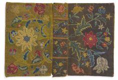 Canvaswork Bible Cover, Sarah Saunders (1741-1789), Philadelphia, 1753