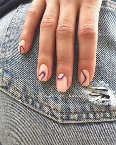 60 Summer Nail Art Trends You Must Try in 2019 - Nails Art - Nagel Minimalist Nails, Get Nails, Hair And Nails, Make-up-tipps Und Tricks, Nail Design Glitter, Glitter Nails, Glitter Makeup, Nagellack Trends, Dream Nails