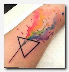 nice Geometric Tattoo - #tattooink #tattoo sailor tattoo meanings, inspiring tattoo ideas, yellow koi fi...
