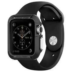 Apple Watch Case Rugged Armor (38mm) – Black