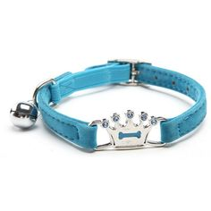 Dimart Adjustable Flocking Cat Collar With Rhinestone Studded For Small Medium Cat >>> Hurry! Check out this great product : Cat Collar, Harness and Leash