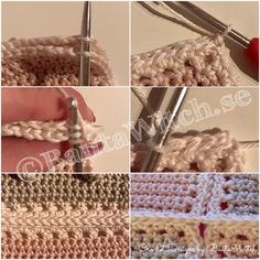 Connecting the Mickey bobble squares with this pattern - scallop-babyplad-by-step bautawitch 1 Bobble Stitch Crochet Blanket, Crochet Heart Blanket, Baby Afghan Crochet, Baby Afghans, Baby Blankets, Crochet Disney, Diy Crochet, Crochet Designs, Crochet Patterns