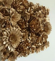 Exceptional 3D Flower Art On Canvas! By Midgebit