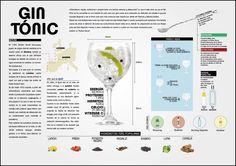 ¿Algo más sobre el gin tonic? infografía de nuestro alumno Sergio Gómez Ventura.