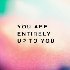 So, who are you going to be today?