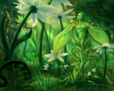 pictures of spiritual beings deviantart | Hidden Witch: Connecting With Plant Spirits