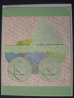 Iris Paper Folding Baby Carriage  www.caguimbalcreations.weebly.com