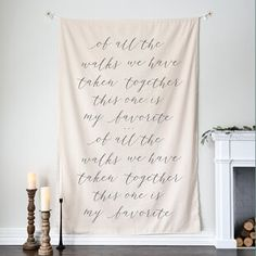 Banner Backdrop, Wall Backdrops, Home Wedding, Wedding Signs, Wedding Ceremony, Garden Wedding, Wedding Blog, Wedding Events, Pretty Quotes