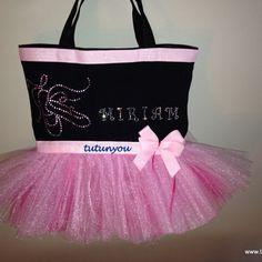 Pink Ballet Tutu Bag