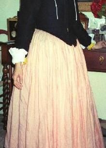 For the old Victorian style skirt you should know this. Great visual and instructions.