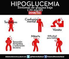 Esto es lo que pasa cuando tu #Glucosa baja demasiado. www.diabetesbienestarysalud.com