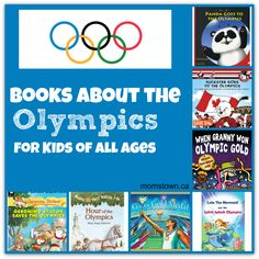 With our love of literacy and reading as a family, we wanted to share 5 great books about the Olympics for kids of all ages, available online, in book stores and in your local library. Kids Olympics, 2018 Winter Olympics, Olympic Idea, Olympic Sports, Olympic Games For Kids, Olympic Crafts, Summer Reading Program, School Themes, School Ideas