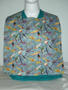 Adult  Size Reversable Bibs by QuiltingMyWay on Etsy, $17.00
