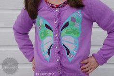 Beautiful Butterfly Applique