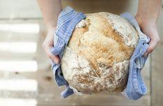 Knead Bread Recipe, No Knead Bread, Stale Bread, Sourdough Bread, Healthy Soup Recipes, Bread Recipes, Eat Healthy, Healthy Nutrition, Kefir Recipes