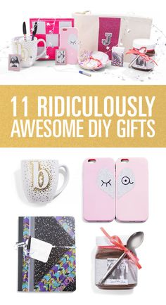 These super easy DIY gifts cost less than $10, take less than an hour to make, and will score you endless points for creativity and cuteness. In fact, they're so cute, you'll want to make them for yourself too!