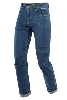 FERRINO - ZERO1 PANTS MAN , 48, denim Pantalone in Jeans elasticizzato bi-stretch. Slim fit gamba a sigaretta. Fondo da 20 cm con risvolto e etichetta a vista.  Passanti in vita e profonde tasche frontali.  Tasca posteriore a filetto preformata a V con fodera in contrasto.  Ideale per ogni genere d'arrampicata purchè con stile. Consigliato per gli aperitivi di fine giornata.  Tessuti 98% cotone - 2% elastan   https://nemb.ly/p/S1jAsfQXx Pubblicato in un lampo con Nembol