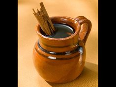 If you like cinnamon in your coffee, this is your drink. Spiced café de olla is brewed with cinnamon sticks in earthenware pots, which Mexicans swear brings out the coffee taste.