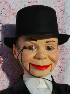 Charlie Mc Carthy Vintage Juro Novelty Co. Dummy Doll, Charlie Mccarthy, Mc Carthy, Puppets, Science Fiction, Supernatural, Creepy, Dolls, Ebay