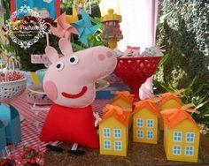 O blog está com cara nova e muito lindo! Para estreia, não poderia ter festa melhor para trazer pra vocês...Peppa Pig, a porquinha mais famo...
