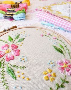 Welcome to my shop. Circle of flowers Embroidery design can be appliqued to a pillow cover or a bag. It can also make an excellent wall