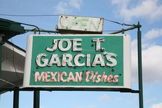 Joe T Garcia's restaurant in Fort Worth, Texas; such a fun place to spend an evening
