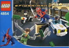 Discover the LEGO Spider-Man Building Sets from Based on the Spider-Man movies. With fun facts and pictures. Marvel Comics Superheroes, Lego Marvel Super Heroes, Lego Building Sets, Lego Sets, Legos, J Jonah Jameson, Lego Spiderman, Avengers Birthday, Spider Man 2