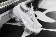 Nike Air VaporMax: Detailed Images of the 'Pure Platinum' & 'Platinum/Red' - EU Kicks: Sneaker Magazine