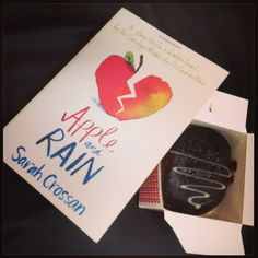 Apple and Rain and a chocolate doughnut. It is a perfect mix to fix a broken heart!  #Book #Apple #Rain #Heart #YoungAdult #Chocolate #Doughnut #readoftheday