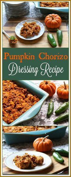Pumpkin Chorizo Dressing Recipe