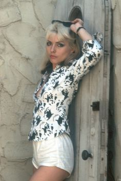 Debbie Harry: Blondie Singer Shows Off Her Style