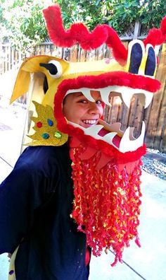 Finding BonggaMom: Halloween Costumewatch 2014: Chinese Dragon