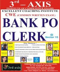 Make your in Banking Profession,many competitive exam will held in this year so prepare your self for the future exams,join third axis is one of best Bank PO coaching institute in Chandigarh.