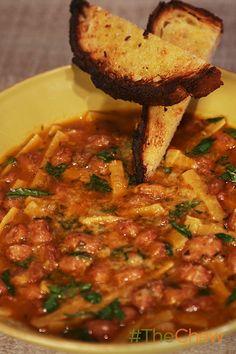 An Italian favorite...Pasta E Fagiole!