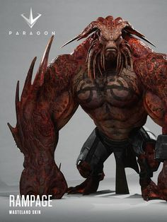Epic games just released their latest patch for Paragon. Also included in this patch is player ratings and new skins, another cool thing Epic added was Monster Concept Art, Alien Concept Art, Creature Concept Art, Fantasy Monster, Monster Art, Creature Design, Mythical Creatures Art, Alien Creatures, Fantasy Creatures