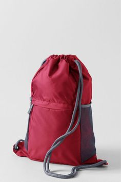 Possible Diabetes Go Bag :: Packable Cinch Sack from Lands' End