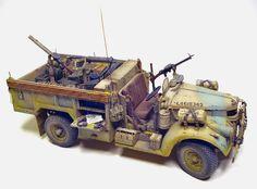 TRACK-LINK / Gallery / LRDG Chevrolet 1533 X2 30 cwts Radio Truck