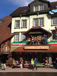 Haus der 1000 Uhren in Triberg im Schwarzwald, Baden-Württemberg