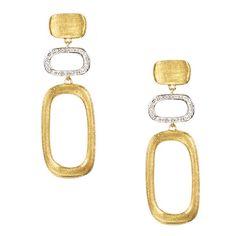Marco+Bicego+Murano+Yellow+Gold+Diamond+Drop+Earrings